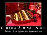 ciocolata de valentine