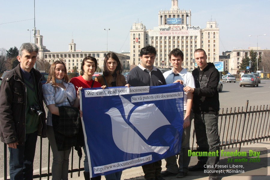 ziua eliberarii documentelor / document freedom day