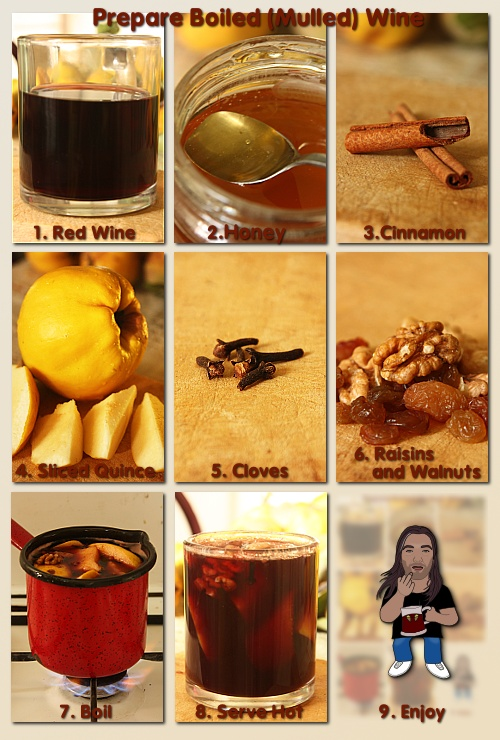 boiled (mulled) wine