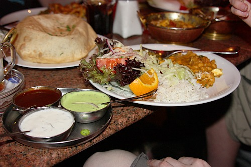 Dinning: Indian food