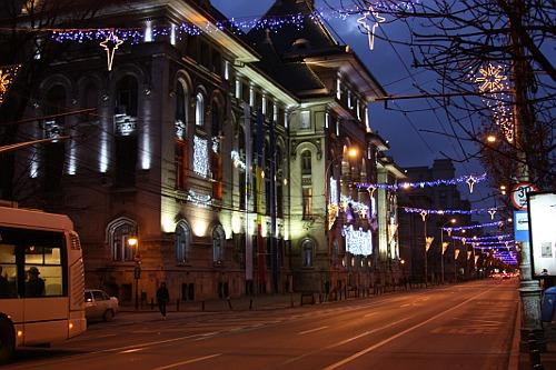 Christmas 2008: Kogalniceanu Boulevard