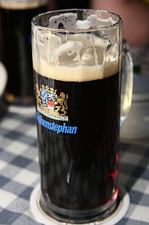Dark german beer