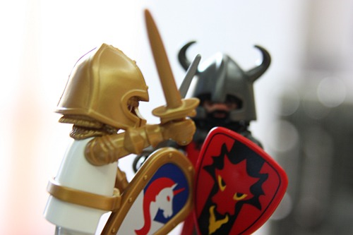 Epic Battle: Good versus Evil