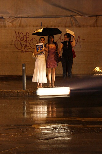 Snapshots in the Rain