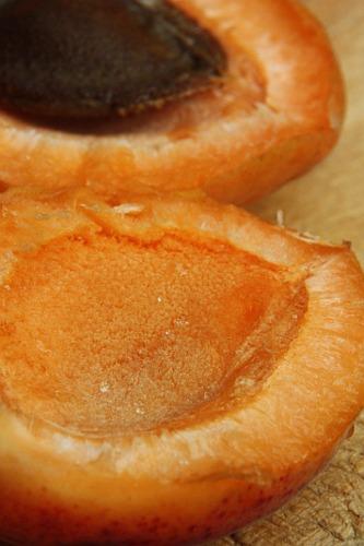 Delicious apricot