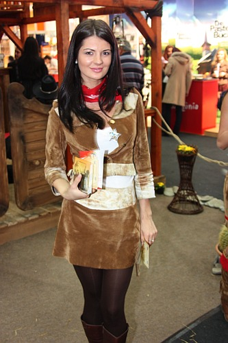 Tirgul de Turism: Cowgirl