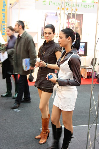 Tirgul de Turism: Booth Babes
