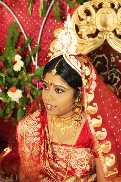 indian wedding beauty