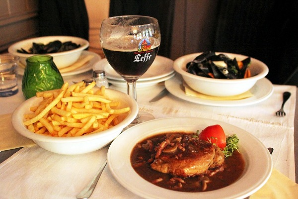 belgian lunch
