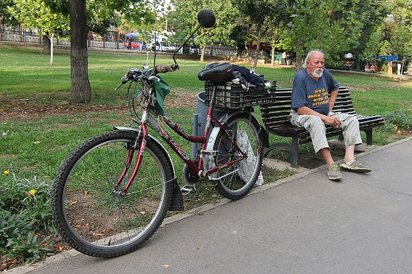 the old man and his bike
