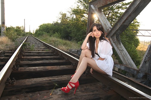 iulia on tracks
