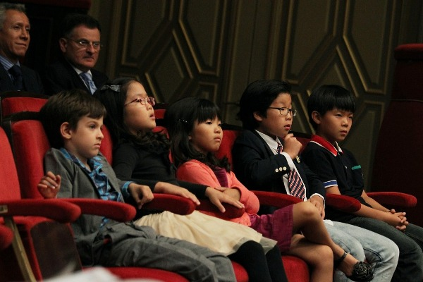 kids at the opera