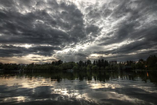 park clouds