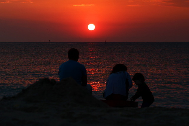 sunrise a trois