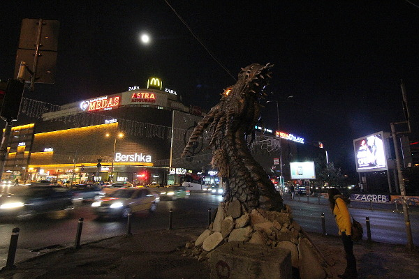 dragon in town