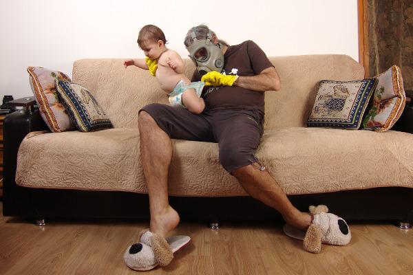 parenting biohazard