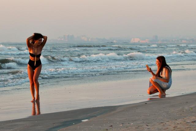 beach shooting session