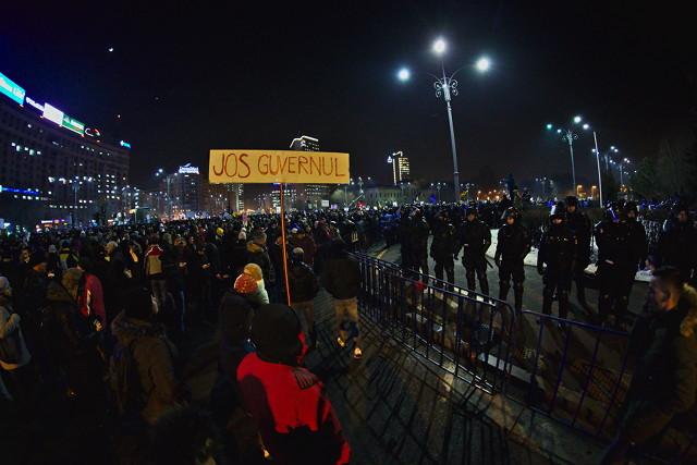 Record protest