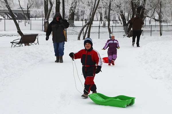 sledge time