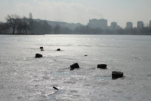plain of ice