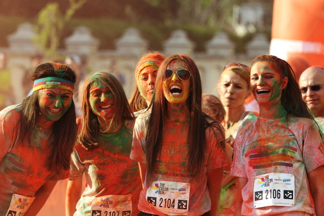 run in colors